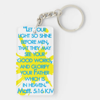 Matthewの5:16 キーホルダー