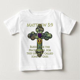 Matthewの5:9 ベビーTシャツ
