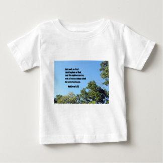 Matthewの6:33 ベビーTシャツ
