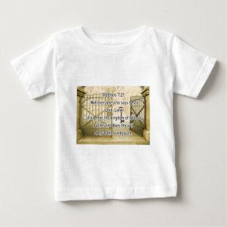 Matthewの7:21 ベビーTシャツ
