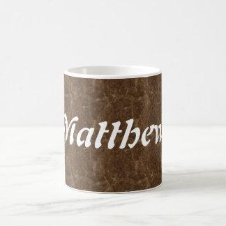 Matthew コーヒーマグカップ
