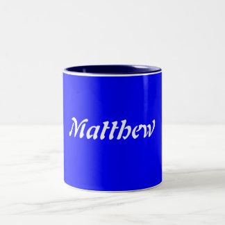 Matthew ツートーンマグカップ