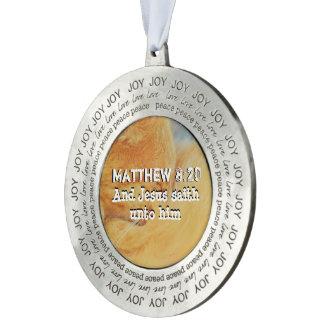 Matthew 8: 20 オーナメント