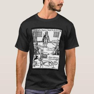 Matthew Hopkins Witchfinder大将 Tシャツ