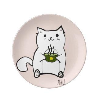 Mauのスープ 磁器プレート