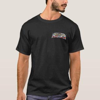 Mauldroppersの二重ロゴの黒T Tシャツ