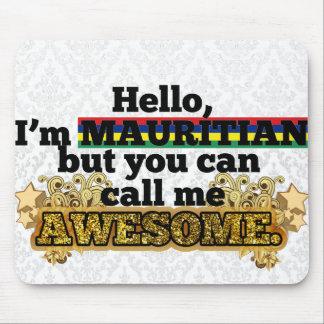 Mauritianは、しかし私を素晴らしい電話します マウスパッド