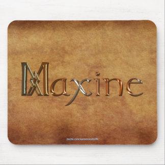 MAXINEによって名前決め付けられる名前入りなギフトのマウスパッド マウスパッド