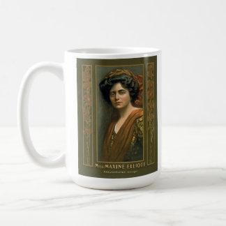 Maxineエリオット1905年女優 コーヒーマグカップ
