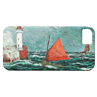 Maxine Maufraの芸術: 漁船に戻る iPhone SE/5/5s ケース