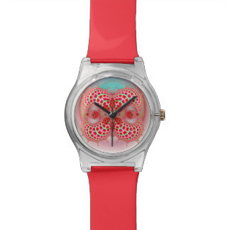 May28thの腕時計を(赤い)併合するペイズリーのメロン 腕時計
