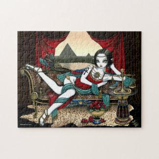 """""""Mayet""""のエジプトの女神のMaatの天使のパズル ジグソーパズル"""