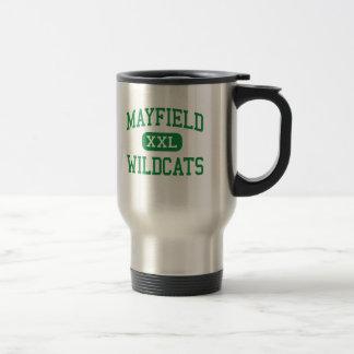 Mayfield -山猫-高等学校-クリーブランドオハイオ州 トラベルマグ