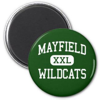 Mayfield -山猫-高等学校-クリーブランドオハイオ州 マグネット