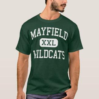 Mayfield -山猫-高等学校-クリーブランドオハイオ州 tシャツ
