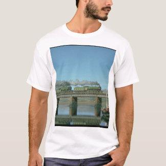 MayflowerおよびScotsman_Steamの飛んでいるな列車 Tシャツ