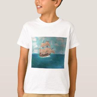 Mayflowerの到着 Tシャツ