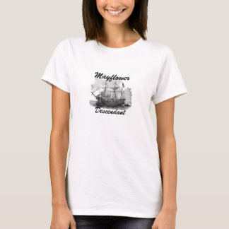 Mayflowerの子孫は結合します! Tシャツ
