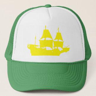 Mayflowerの黄色いトラック運転手の帽子(あなたの色を選んで下さい) キャップ