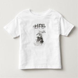 Mayflowerの「Lifeからのフロントカバー トドラーTシャツ