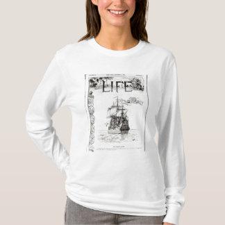 Mayflowerの「Lifeからのフロントカバー Tシャツ