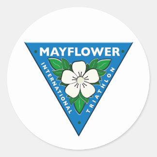 Mayflowerインターナショナルのトライアスロン ラウンドシール