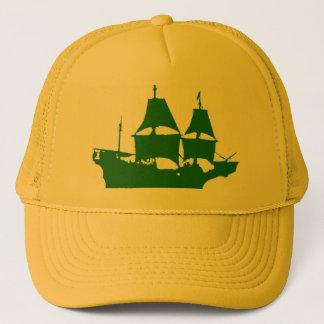 Mayflower緑のTurckerの帽子(あなたのccolorを選んで下さい) キャップ