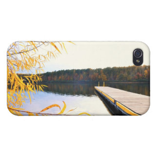 mayo湖のボートの波止場4/4s iPhone 4/4S ケース