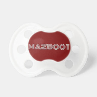 Mazboot おしゃぶり