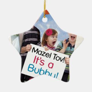 """""""Mazel Tov! それはですBubby!"""" 表紙の服装 セラミックオーナメント"""