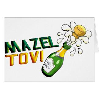 Mazel Tov カード