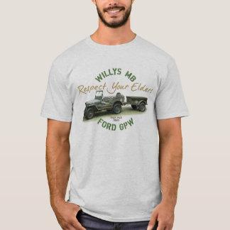 MB GPWの点あなたの年長者メンズ Tシャツ