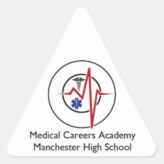 MCAのスワッグのロゴ2 三角形シール