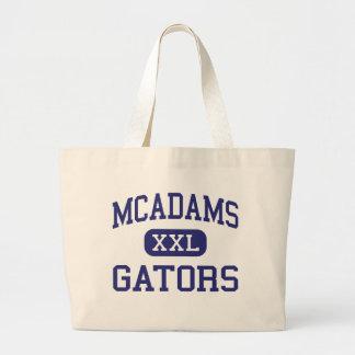 McAdams -わに-後輩- Dickinsonテキサス州 ラージトートバッグ