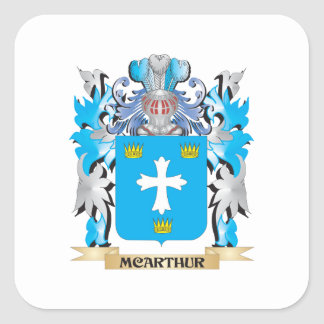 Mcarthurの紋章付き外衣-家紋 スクエアシール