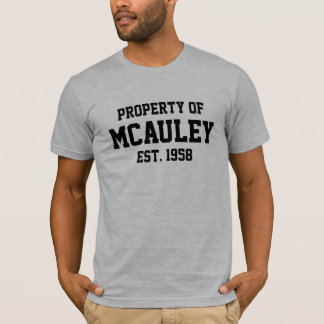 McAuleyの特性 Tシャツ