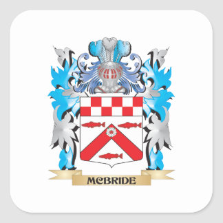 Mcbrideの紋章付き外衣-家紋 スクエアシール