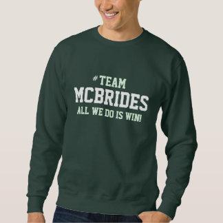 MCBRIDE家族のプライドのスエットシャツ スウェットシャツ