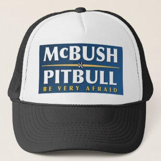 McBush及びピットブルの帽子 キャップ