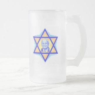 McCainのユダヤ人のマグ フロストグラスビールジョッキ