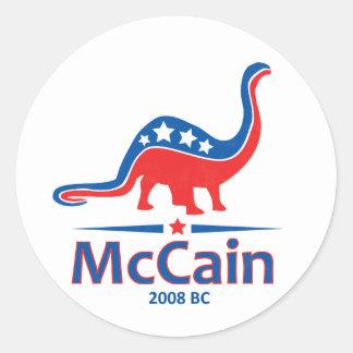 McCainのBrontosaurus ラウンドシール