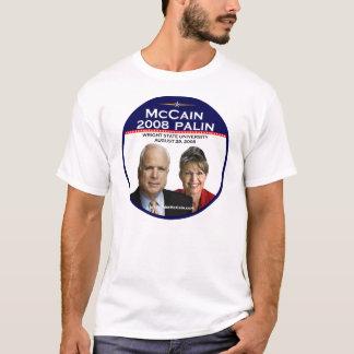McCainのPaulinの発表の記念するライトSt Tシャツ
