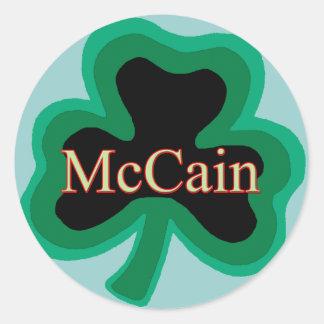 McCain家族 ラウンドシール