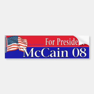 McCain バンパーステッカー