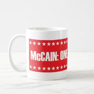 McCain: 1匹の堅い粗悪品 コーヒーマグカップ