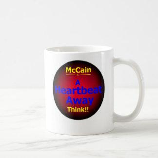 McCain Palinの心拍のマグ コーヒーマグカップ