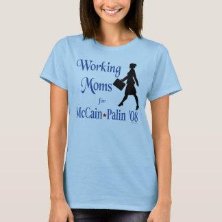 McCain PalinのTシャツのためのWokingのお母さん Tシャツ