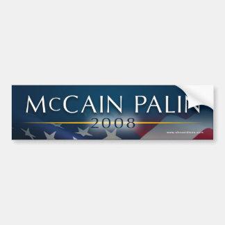 McCain Palin 2008のバンパーステッカー バンパーステッカー