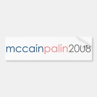 McCain Palin 2008年 バンパーステッカー