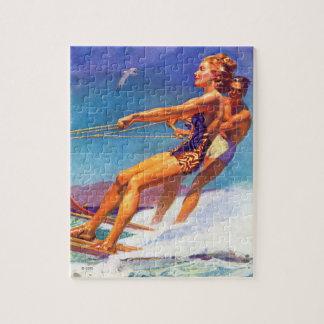 McClellandバークレイ著水スキーヤー ジグソーパズル